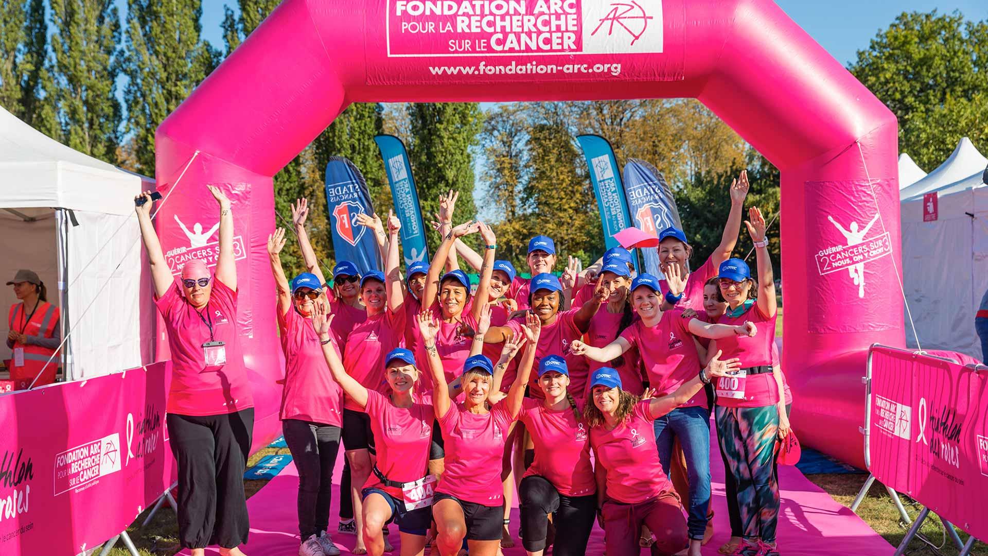 Triathlon des Roses : les collaboratrices d'Ortec se sont dépassées pour la bonne cause