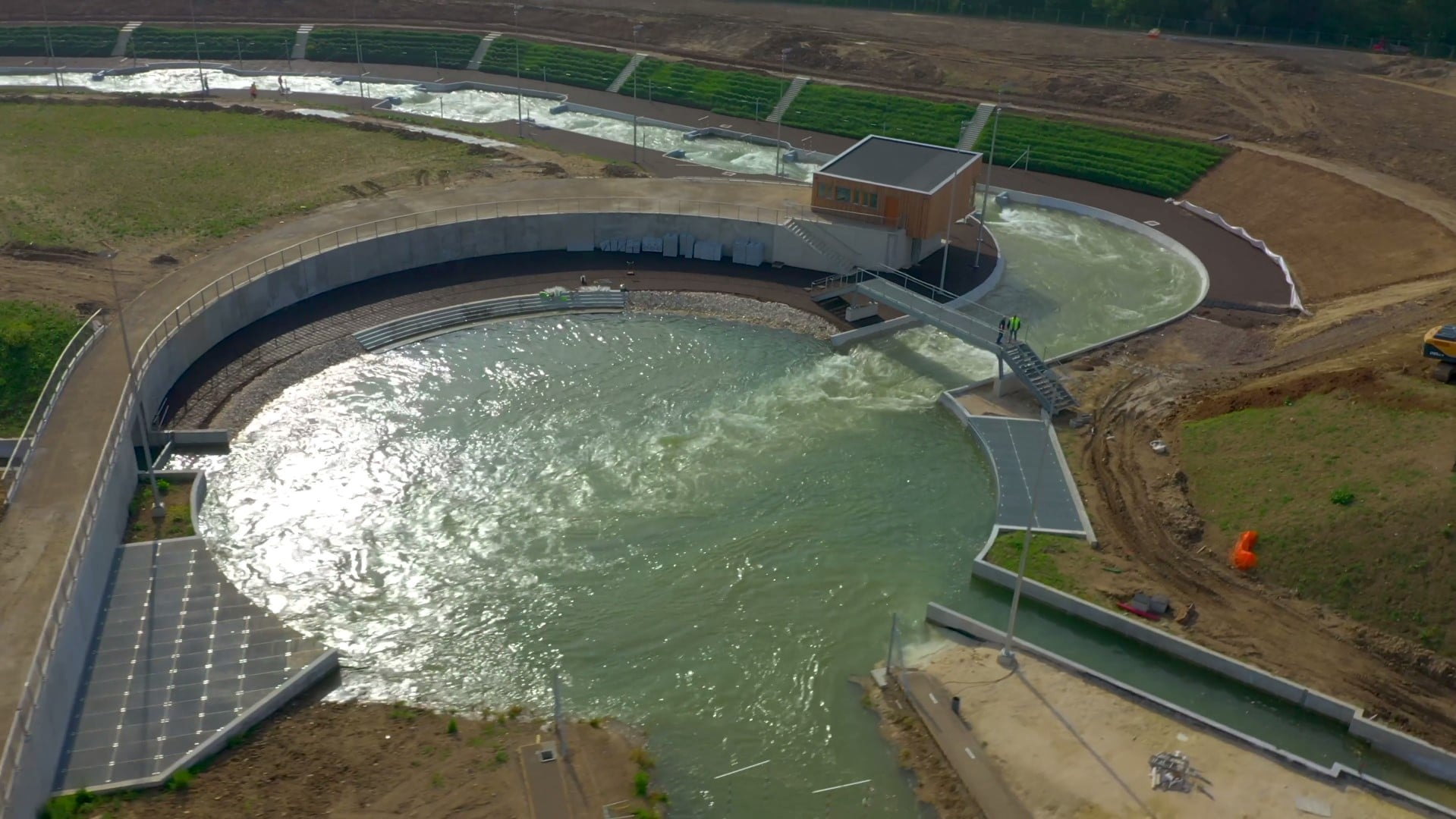 L'expertise hydraulique d'OSI Lacq déployée sur des installations des JO 2024